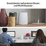 Netgear Orbi RBK23-100PES AC2200 Mesh Wlan/Mesh Router (Triband System mit Router und Satellit bis zu 375 m², Alexa kompatibel, ersetzt Powerline und Repeater) - 3