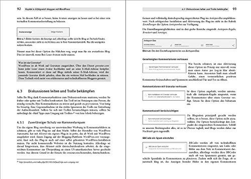Das WordPress Praxishandbuch: Der Bestseller, nun fur WordPress 4.6 (4., aktualisierte Auflage) - 7