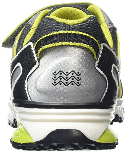 Geox Jungen J Bernie B Low-Top Grau (GREY/LIMEC0666)