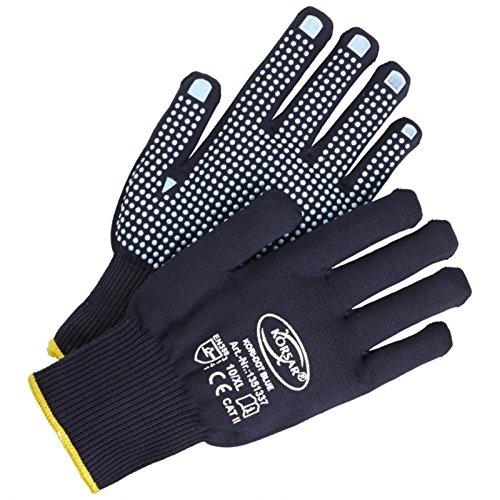 Handschuhe Arbeitshandschuhe Präzisionshandschuh Kori-Dot Blue - Größe 9 - blau