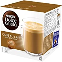 NESCAFÉ Dolce Gusto Cafe Au Lait, Pack of 3 (Total 48 Capsules, 48 servings)