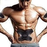 L-life Massagegürtel EMS Bauch Muscle Toner Gürtel ABS Fit Gewicht Muskeltraining Gym Workout Maschine Für Männer und Frauen