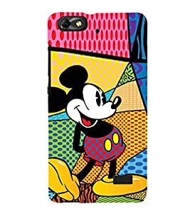 EPICCASE funny mickey Mobile Back Case Cover For Huawei Honor 4C (Designer Case)