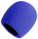 Onstagestands ASWS58-BL Bonnette universelle avec mousse pour Micro Bleu