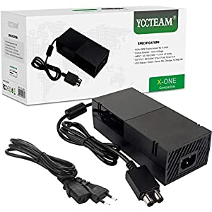 Xbox One Netzteil Brick, AC Ladegerät Netzadapter Wand ladegerät Ersatz Kit für Xbox One Konsole, Weltweit Auto-Spannung…