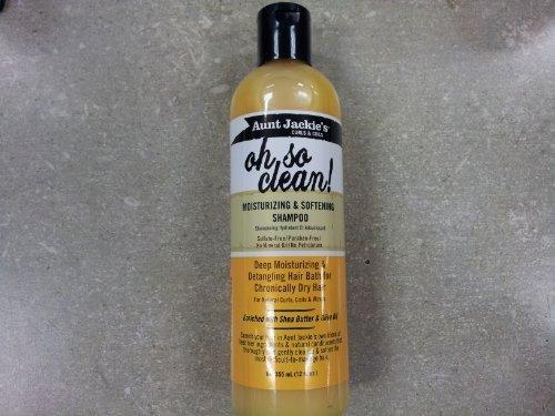 Aunt Jackie's oh so clean! 12oz - Moisturizing & Softening Shampoo by Aunt Jackie (English Manual)