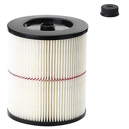 VACFIT Filter für Shop VAC & Handwerker 178169-17816Ersatz Patrone Filter für Handwerker Wet Dry VAC 5und größere Gallonen Staubsauger Zubehör 1Pack 1 Pack Filter - Shop-vac Patrone Filter