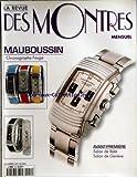 REVUE DES MONTRES (LA) [No 54] du 01/04/2000 - MAUBOUSSIN / CHRONOGRAPHE FOUGA -...