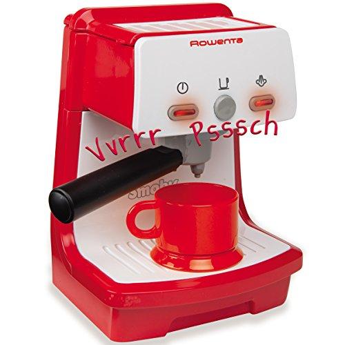 Unbekannt Rowenta Espressomaschine mit Funktionen, 10x18 cm - Kaffeemaschine Kinder Küche Spielzeug Küchenzubehör