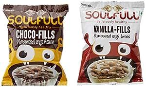 Soulfull Choco Vanilla Fills, 6x35g (Pack of 6)