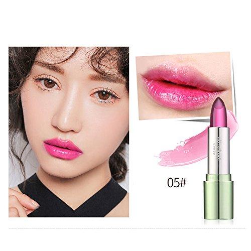 JUTOO Rouge à lèvres, Rouge à lèvres Organic Aloe Vera Jelly Changer la température de Couleur Cadeau hydratant pour Les lèvres