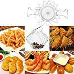 Ascension 12 in 1 Chef Basket Kitchen Tool of Stainless Steel for Home Usage (Silver)