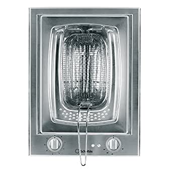 SCHOLTES - Domino Friteuse 38cm S3 PMF40SF (PMF 40 SF) Inox