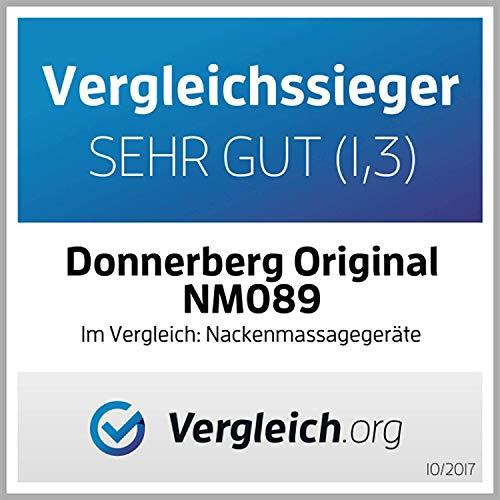 Donnerberg Original Masajeador Cervical Shiatsu y Calor