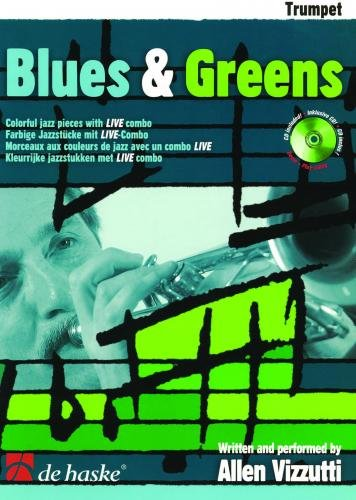 Vizzutti: Blues & Greens - Trumpet Book & CD