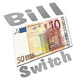 50 Euro Bill Switch, Geldscheinverwandlung Zaubertrick Zaubertricks zaubern
