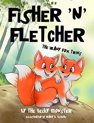 Fisher 'n' Fletcher: The Zany Fox Twins (Book 1) (English Edition)