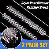 STARPIA 2PCS Dryer Cleaner Vent Brush Radiator Brush, 80cm / 31 Inch Long
