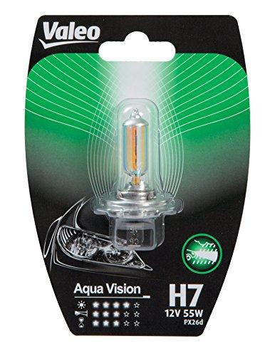 Lampadina Valeo H7 Aqua Vision Ricambi Cura Automobile Accessori