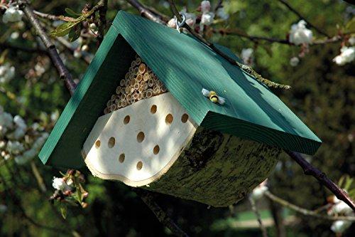 Eine Nisthilfe für Wildbienen