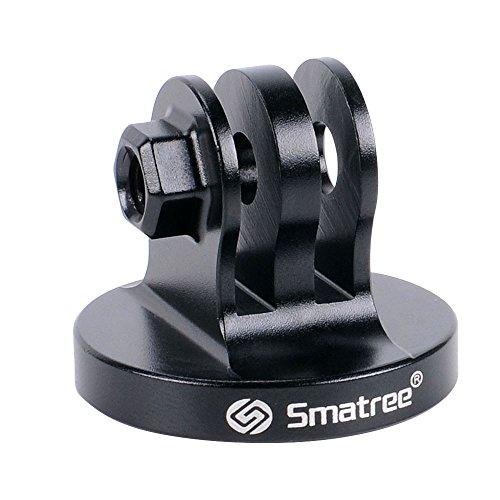 Smatree® Aluminium Stativ Mount Adapter für GoPro Session, Hero 6, 5, 4, 3, 2, 1 HD (Black)