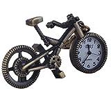 Merssavo Retro-Fahrrad Schlüsselanhänger Fahrrad Form Anhänger Schlüsselanhänger hängenden Taschenuhren