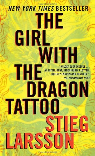 Book cover for The Girl with the Dragon Tattoo