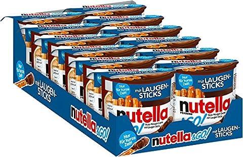 Ferrero Nutella und Go Laugen-Sticks, 12er Pack (12 x 54 g) (Nutella Ferrero)