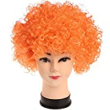 FunRobbers CURLY AFRO WIG (Orange) COLOU...