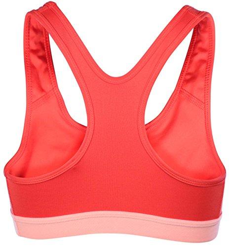 Reggiseno sportivo Nike Pro Classic Logo Bra rosso
