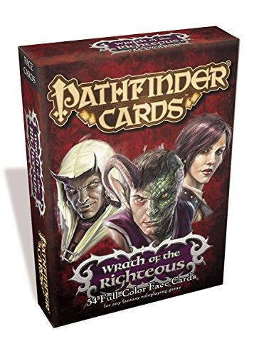 Pathfinder Karten: WRATH der rechtschaffenen Face Karten Deck Pathfinder-miniaturen