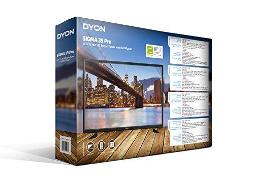 DYON Sigma 39 Pro 97 8 cm  39 Zoll  TV  HD ready  DVD Player  Triple Tuner  DVB T2   USB  HDMI