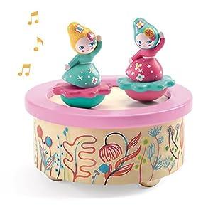 Djeco  - Caja de música Flower Melody