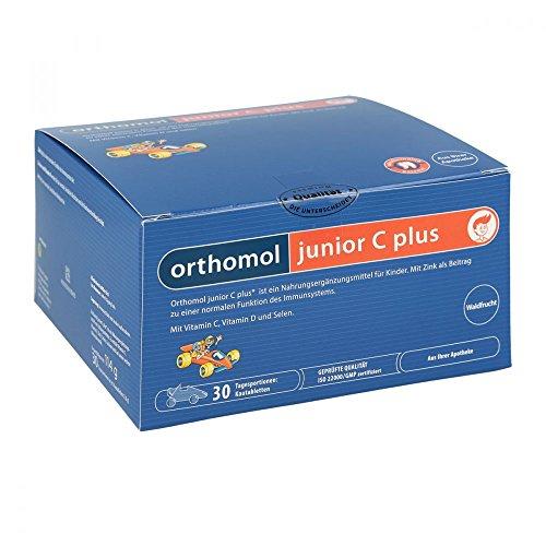 Orthomol junior C plus Waldfrucht Kautabletten, 30 St.