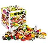 Erzi Big Box Spielset, 21,4x 21,4x 22cm, Sortiment, Holz-Lebensmittel