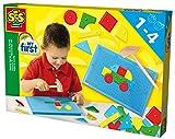 SES-Creative 14424 Figure e Martello per Piccoli, Multicolore