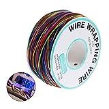 250m Isolierung Test Geschenkpapier Kabel-SUNLIST Verzinnte Kupfer Solid Kabel 8 Farben 30AWG für Laptop Motherboard Elektronischer Test