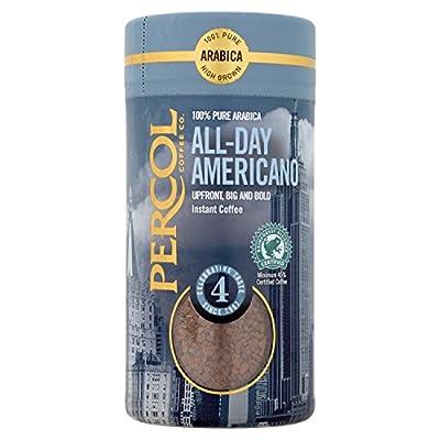 PERCOL Rainforest Alliance Americano Freeze Dried Instant Coffee 100g by PERCOL