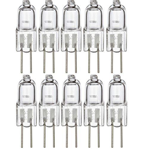 G4-Halogen-Leuchtmittel, transparente Kapseln, Ersatz für Herdbeleuchtung, Signalleuchten, 20 W, 20 Stück -