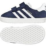 adidas Gazelle CF I, Pantofole Unisex-Bimbi, Blu (Maruni/Ftwbla 000), 22 EU