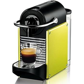 Nespresso Pixie EN125.L macchina per caffè espresso di De'Longhi, colore Electric Lime
