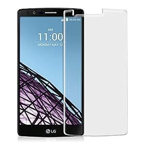 kwmobile Protection écran en Verre Trempé LG G4 MAT et ANTI-REFLETS avec effet anti-traces de doigts. Qualité supérieure