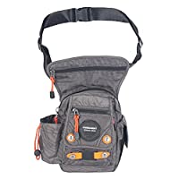 Innturt Nylon Tactical Leg Bag Pouch Fanny Pack Shoulder Messenger Bag Gray