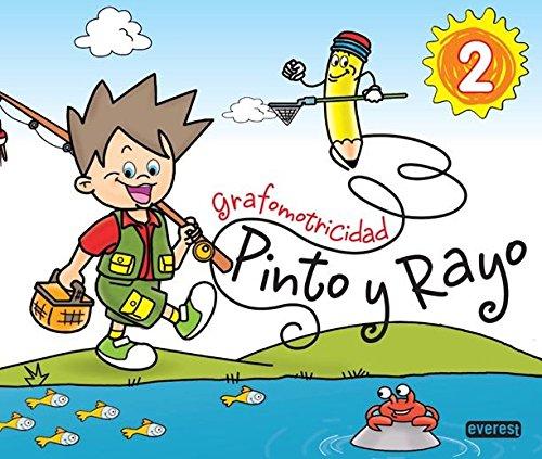 Pinto y Rayo 2. Grafomotricidad - 9788444173924