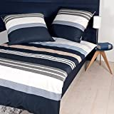 Janine Design Mako-Satin Bettwäsche J.D. 8481-08 1 Bettbezug 135x200 cm + 1 Kissenbezug 80x80 cm