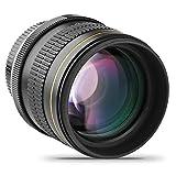 JINTU 85MM F1.8 Full Frame Aspherical Telephoto Portrait Lens for NIKON D5200 D3400