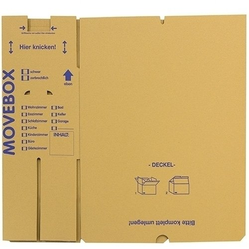 30 x UMZUGSKARTONS ZWEIWELLIG – 634 x 290 x 326 mm – MOVEBOX – 2.20 EB Welle - 4