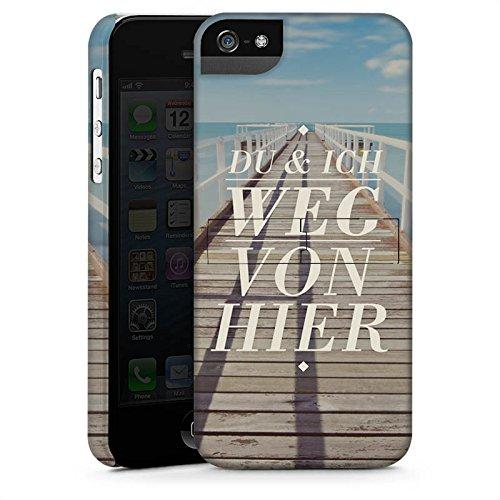 Apple iPhone X Silikon Hülle Case Schutzhülle Leben Reise Sprüche Premium Case StandUp