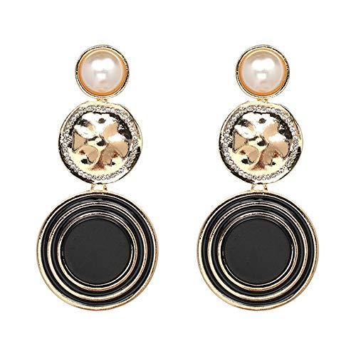 JIANYUXIN Orecchini Orecchini da Donna Orecchini di Perle Imitazione Perla