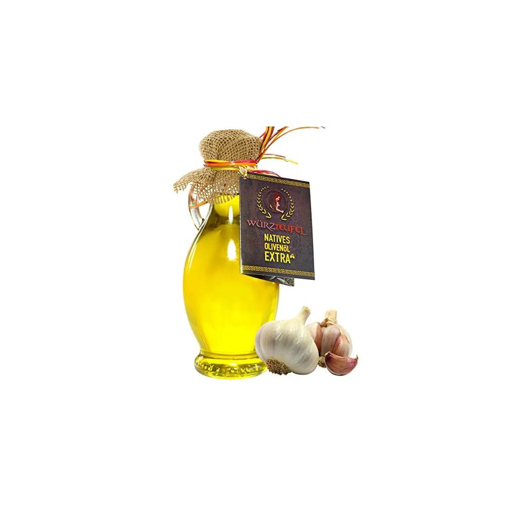 Knoblauchl Knoblauch L Aus Nativem Extra Vergin Olivenl Griechenland Ungefiltert Kaltgepresst Traditionelle Herstellung Im Familienbetrieb Amphore Irgizia Flasche 250ml